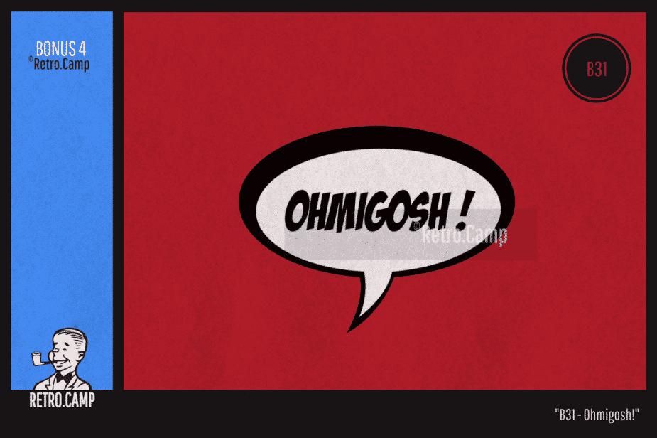 "B31 ""Ohmigosh!"""